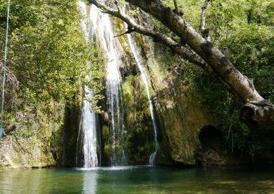 Cotignac waterfall walk